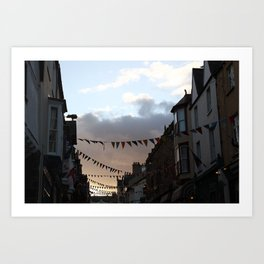 Sunset in Conwy Art Print
