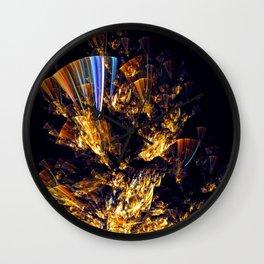 Dancing Fan Wall Clock