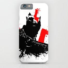 Kratos - God of War iPhone Case