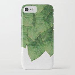 Banana Leaf III iPhone Case
