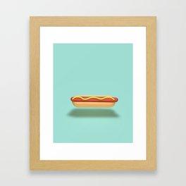 Hotdog Framed Art Print