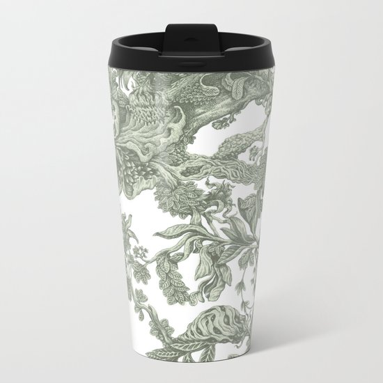 Leaf Metal Travel Mug