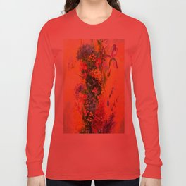 A bouquet of beautiful wildflowers Long Sleeve T-shirt