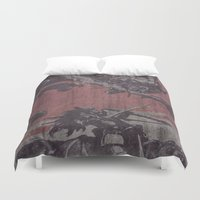 fight Duvet Covers featuring Fight by Last Call