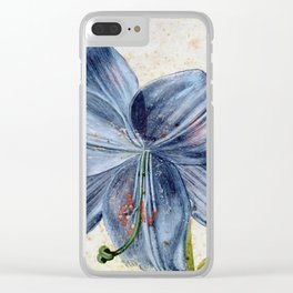 Albrecht Durer - Study Of A Lily Clear iPhone Case
