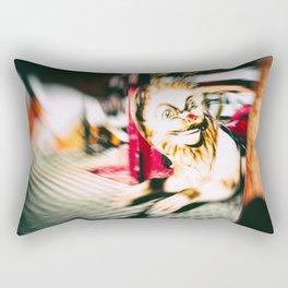 FUNFAIR - LION (Carousel Blur) Rectangular Pillow