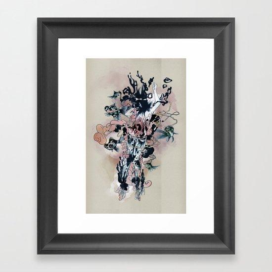 Decay (Full) Framed Art Print