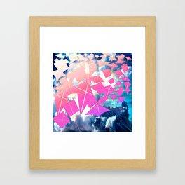 Easter Kites Framed Art Print