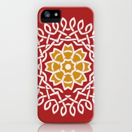 May celtic flower iPhone Case