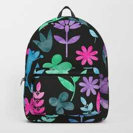 Flower Pattern V Backpack