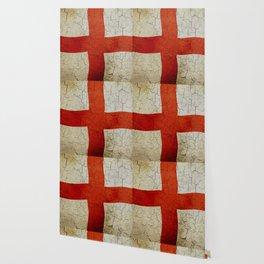 Vintage England flag Wallpaper