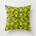 Ylang Ylang Exotic Scented Flowers and Leaves Pattern by bluedarkatlem