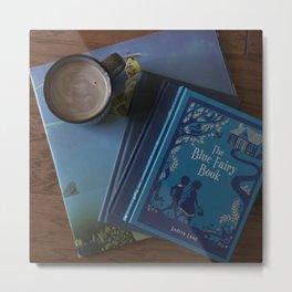 The Blue Fairy Book Metal Print