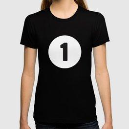 Ball 1 Billiard T-shirt