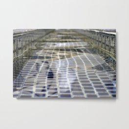 Fountain Water Metal Print