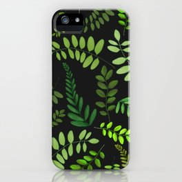 plant pattern updated iPhone Case