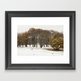 This beautiful winter Framed Art Print
