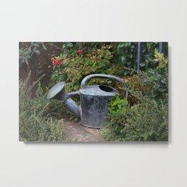 Watering Can Metal Print