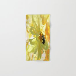 Busy Bumble Bee Hand Bath Towel