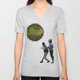 Somewhere #4 Unisex V-Neck