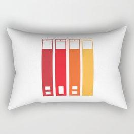 Web Traffic Rectangular Pillow