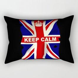 Keep Calm Union Jack Rectangular Pillow