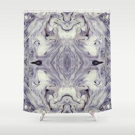 Obsidian Shower Curtain