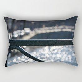 Amsterdam Canal Detail with Bokeh Rectangular Pillow