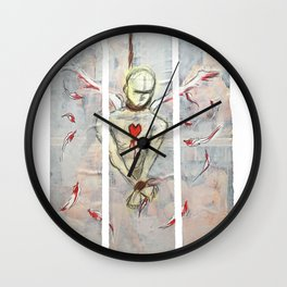 Untitled triptych Wall Clock