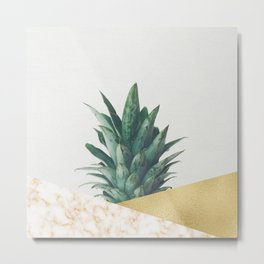 Pineapple Dip VII Metal Print