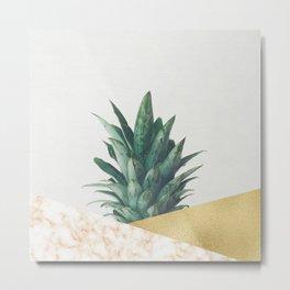 Pineapple Dip VII Metal Print