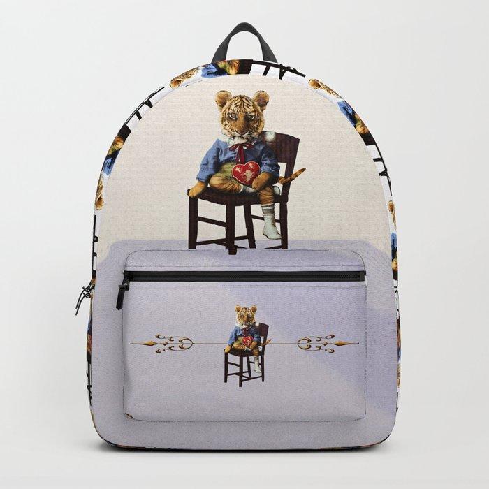 Tiny Tiger Valentine Backpack