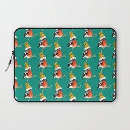 Christmas Bird Bullfinch Laptop Sleeve