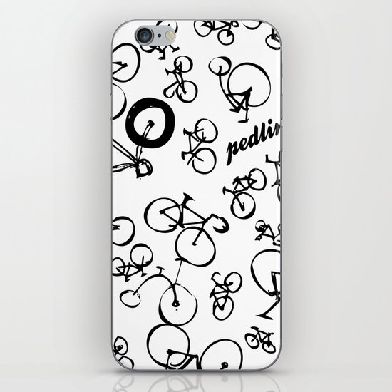Bicycle World iPhone & iPod Skin