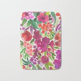 Tropical Flora Bath Mat