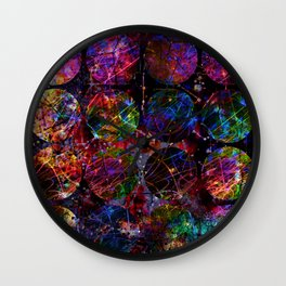 Looking through Space Wall Clock