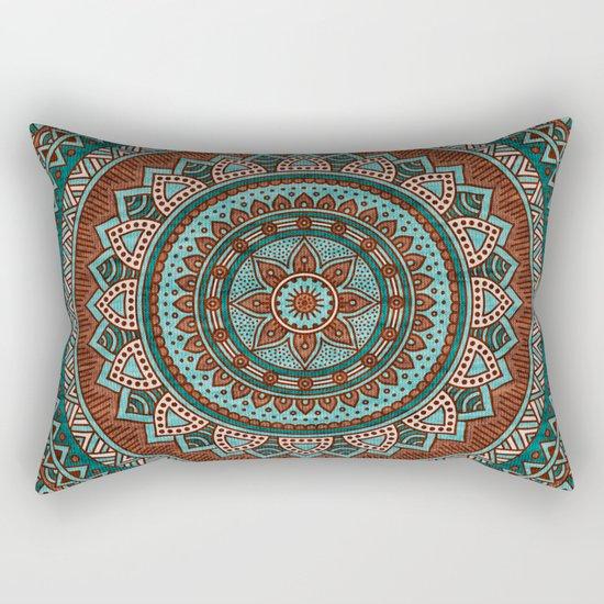 Hippie mandala 50 Rectangular Pillow