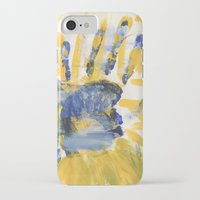 sun and moon iPhone & iPod Cases featuring Sun-Moon by Lindsey Quakenbush