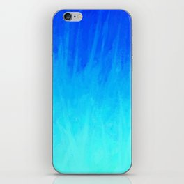 Icy Blue Blast iPhone Skin