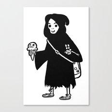 Chill Reaper Canvas Print