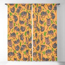 Armadillo Pattern Blackout Curtain