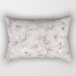 VIOLET MAGNOLIAS Rectangular Pillow