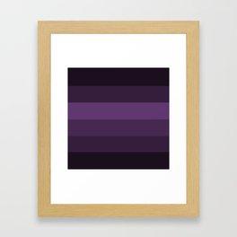 Deep Lavender Dream 2 Framed Art Print