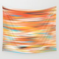 into the wild Wall Tapestries featuring Wild by Angelz