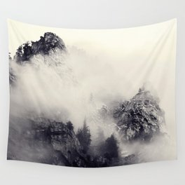 Foggy Provo Wall Tapestry