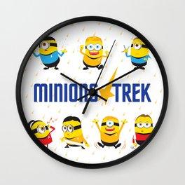 Minion Trek Wall Clock
