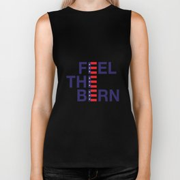 FEEL THE BERN (Stars and Stripes) Biker Tank