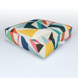 Collection of pointy summit Outdoor Floor Cushion