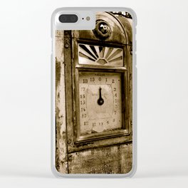 Archaic Meter of the Empire State Mine Clear iPhone Case