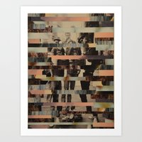 beastie boys Art Prints featuring The Boys by Claire Elizabeth Stringer